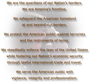 CBP Mission Statement