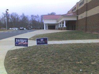 Loudoun County, VA. Potomac Precinct. Riverside polling location. 2008 GOP Primary.